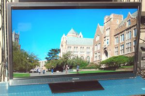Panasonic TC-L42ET5 3D Network LED/LCD TV - Photo - Front View