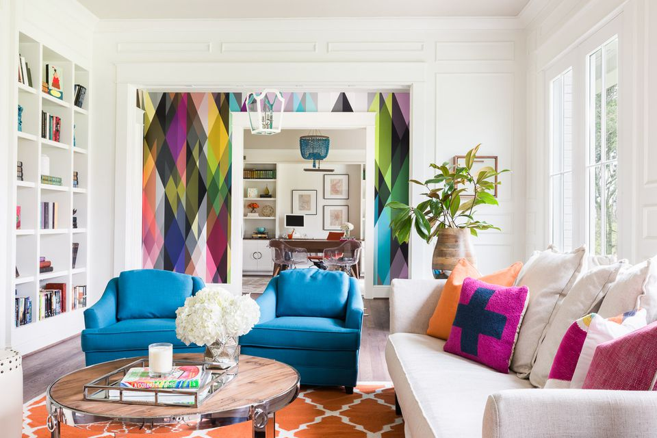 33 home decor trends to try in 2018 - Colors for modern living room chromatic vitality ...
