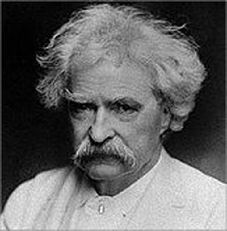 mark twain s advice to youth humorist mark twain s personal essay two ways of seeing a river