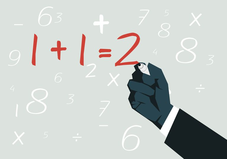 Equivalent equations contain variables that have the same values as each other.