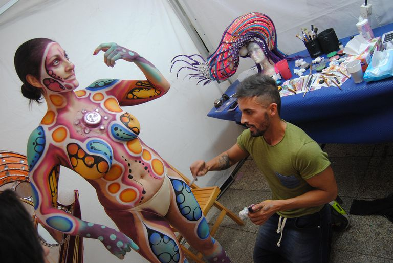 Maquillaje corporal (Body Painting)