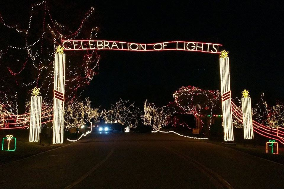Celebration of Lights in O'Fallon, Missouri
