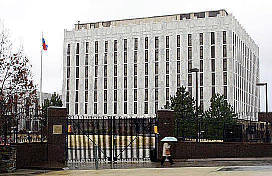 Russian Embassy in Washington D.C.