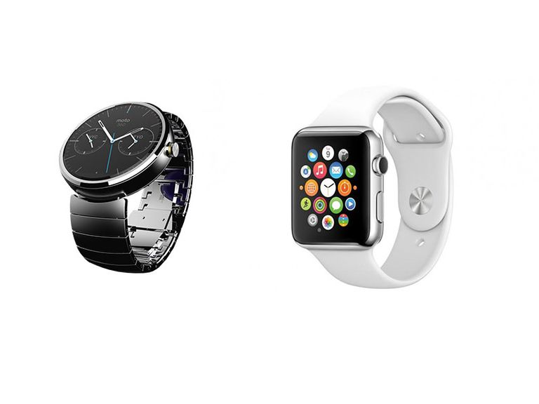 android wear vs apple watch. Black Bedroom Furniture Sets. Home Design Ideas