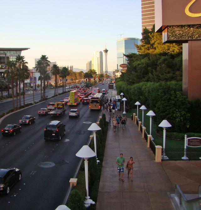 The Strip in Las Vegas