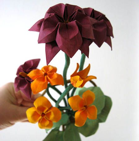 Different types of pretty origami flowers mightylinksfo