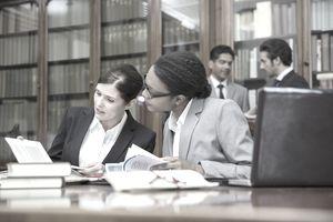 Ltitgators talking in chambers