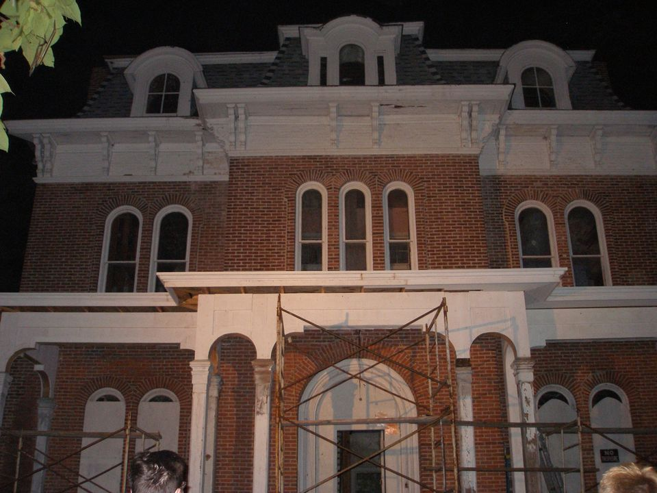 The historic McPike Mansion in Alton, IL has a ghoulish history and is said to be haunted