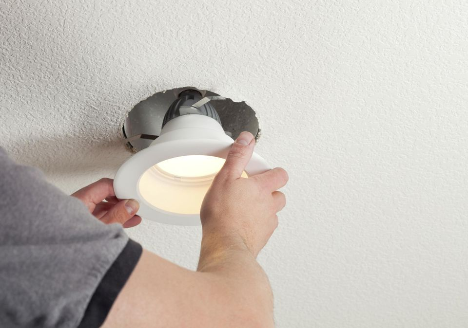 How to install recessed lights mozeypictures Gallery