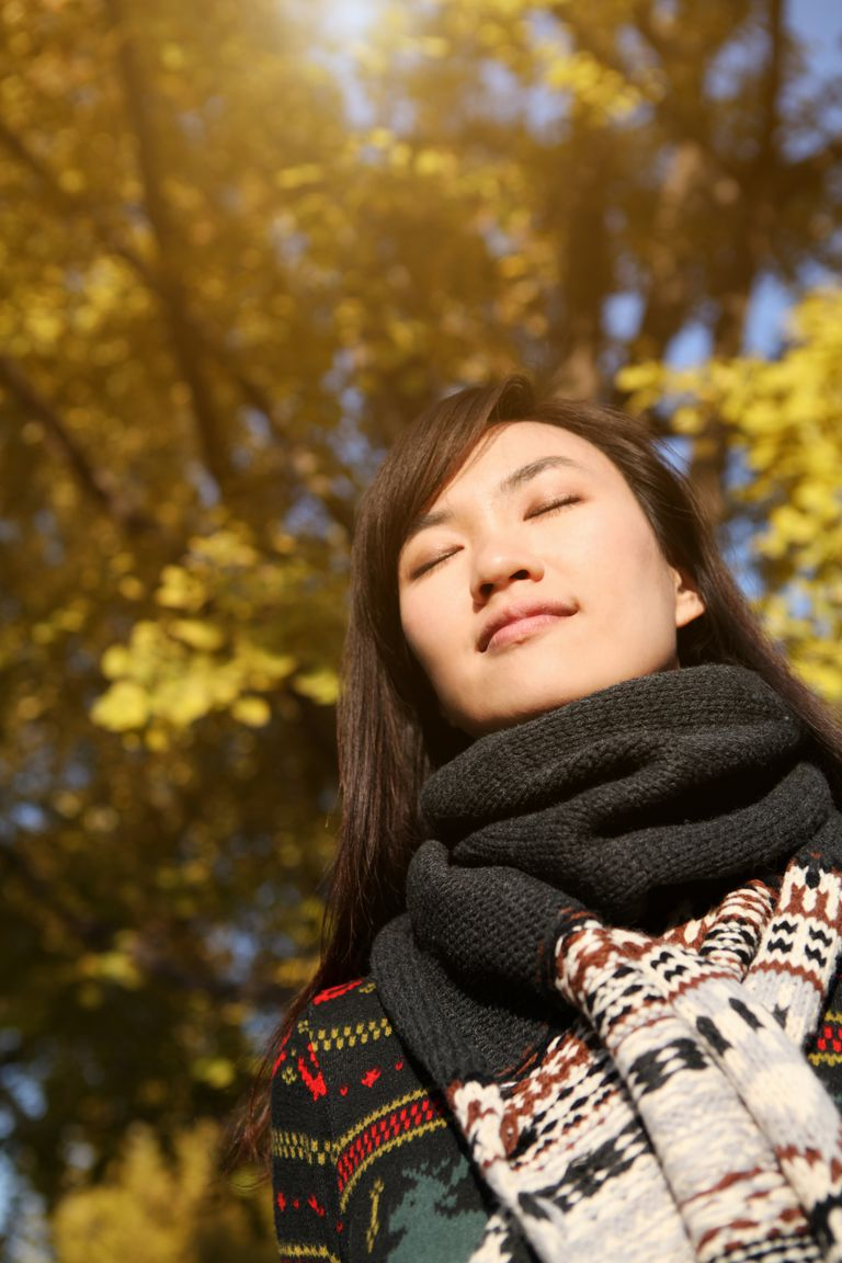Reduce social anxiety through deep breathing.