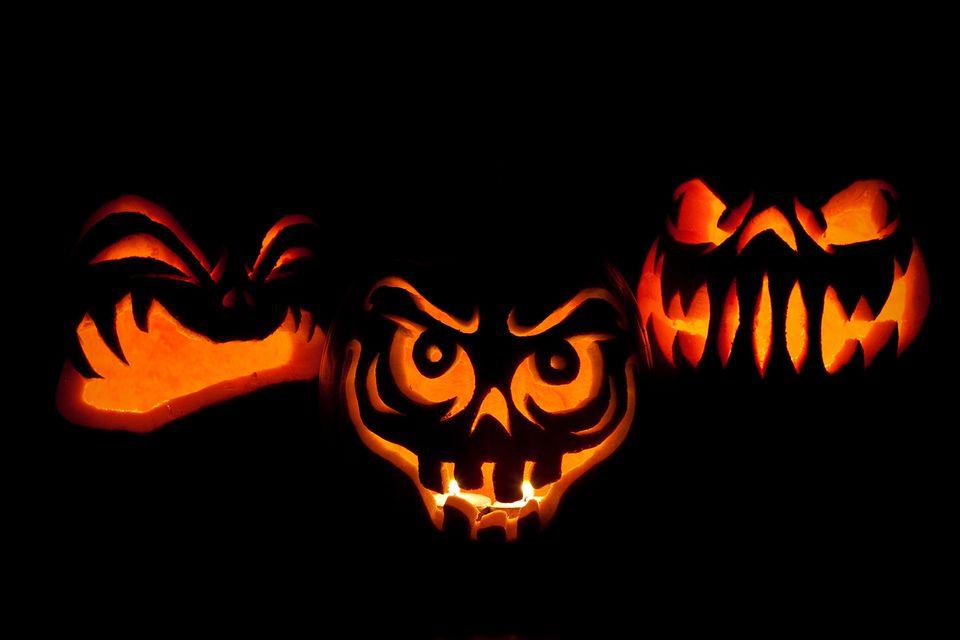 Jack-o-Lanterns for Halloween