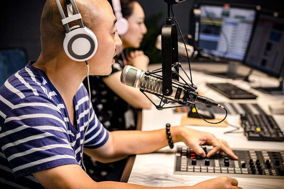 The radio DJ