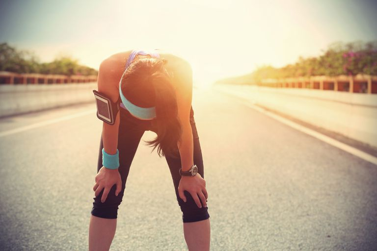 heat exhaustion while exercising