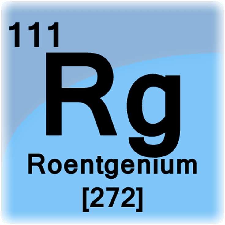 A list of radioactive elements interesting roentgenium element facts urtaz Image collections
