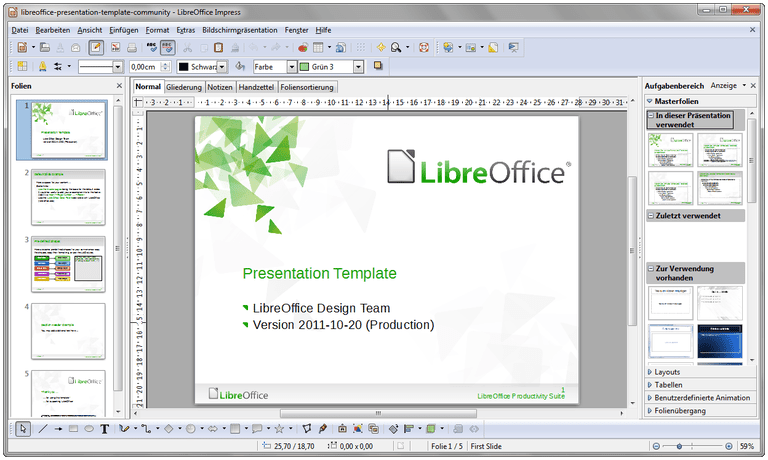 Libreoffice vs openoffice who wins for Open office database templates