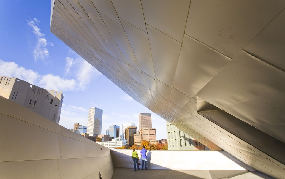 Hamilton Building Terrace at Denver Art Museum