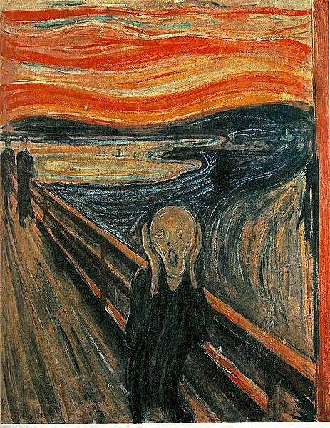 Pintura 'El grito' de Edvard Munch