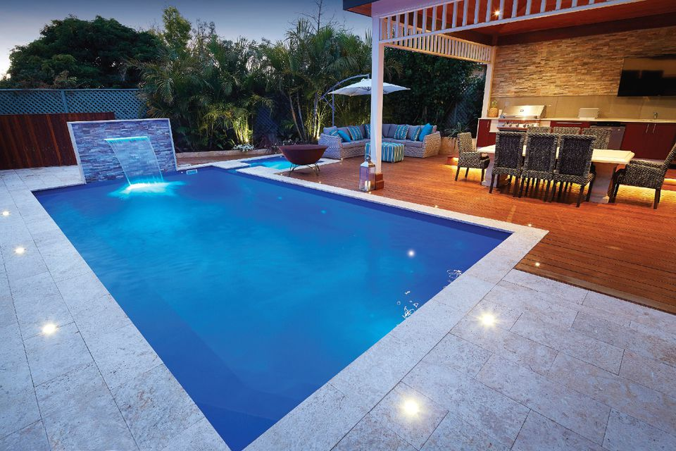 Rectangular pool designs and shapes for Pool design rectangular