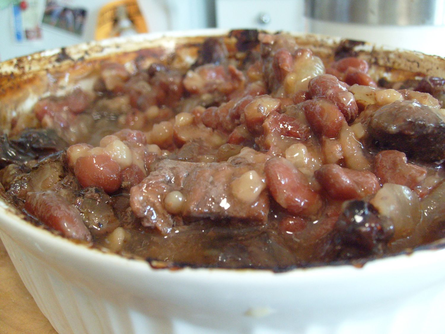 Traditional Kosher Meat Cholent Recipe