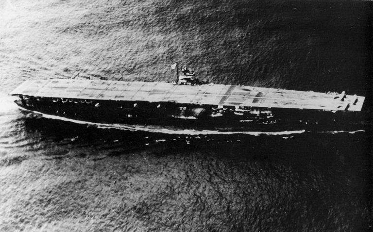 Akagi Japanese aircraft carrier