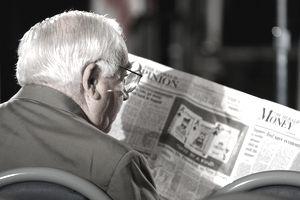 a senior jobseeker