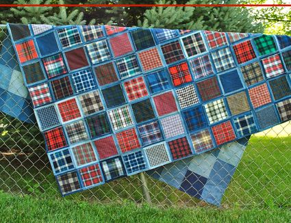 How To Make A Rag Quilt Start To Finish Instructions