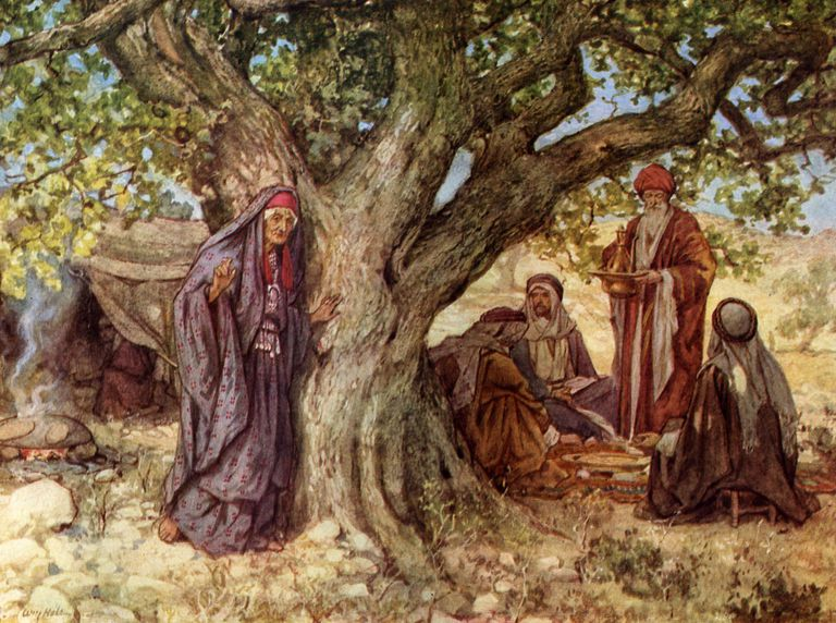 Sarah and Abraham in the Bible