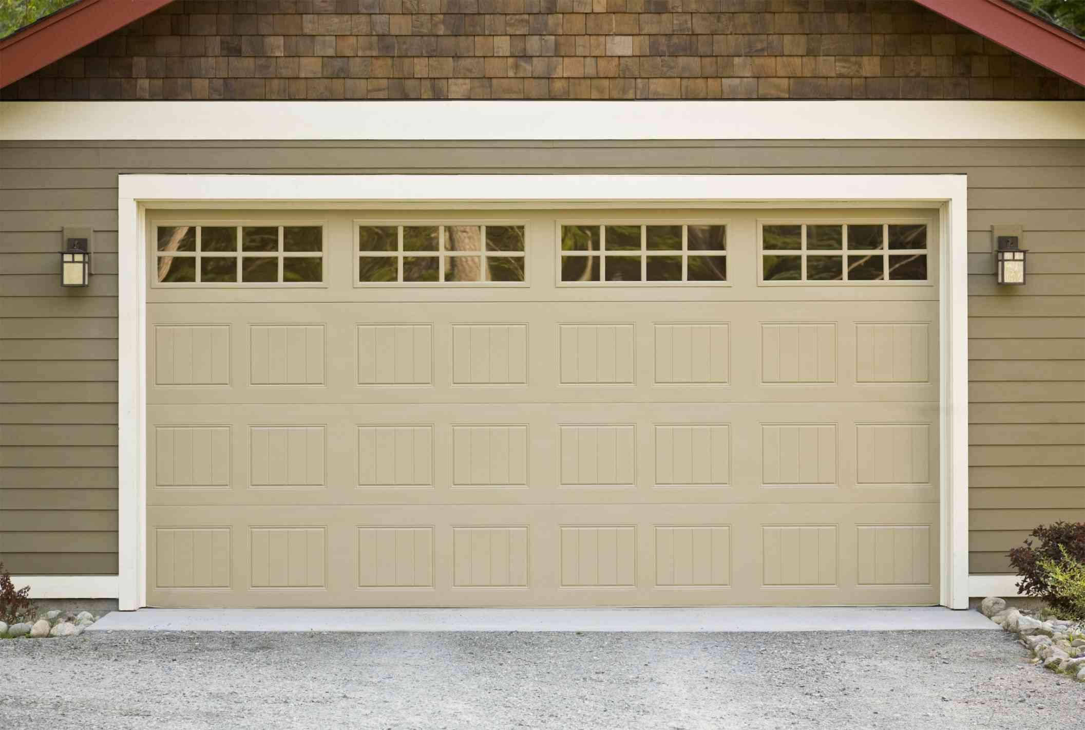 door paint real the how to a garage homes advice