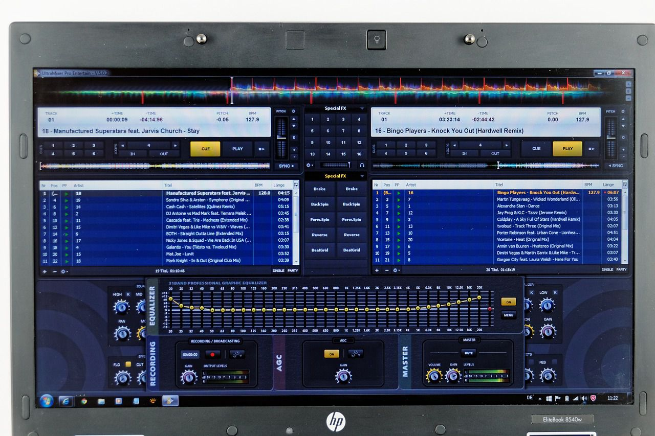 The Basics of DJ Software and Mixing