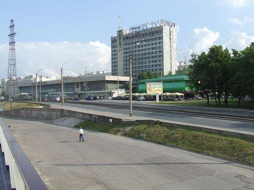 Saint Petersburg River Terminal Area