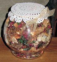 Pine Cone Air Freshener Craft