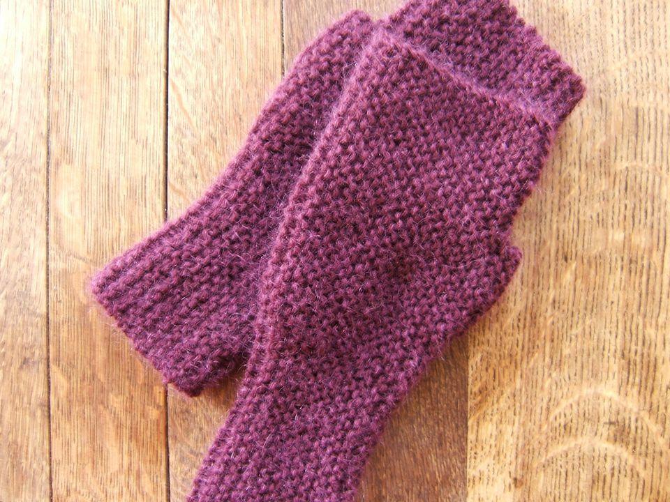Garter Stitch mittens