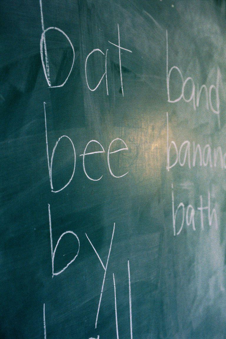 chalkboard spelling