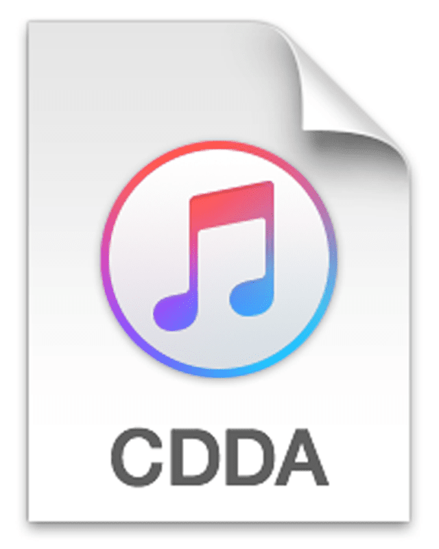 Picture of the CDDA file icon