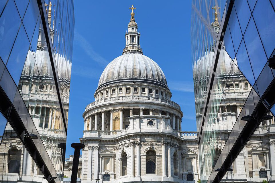 London, St Paul's Cathedral.