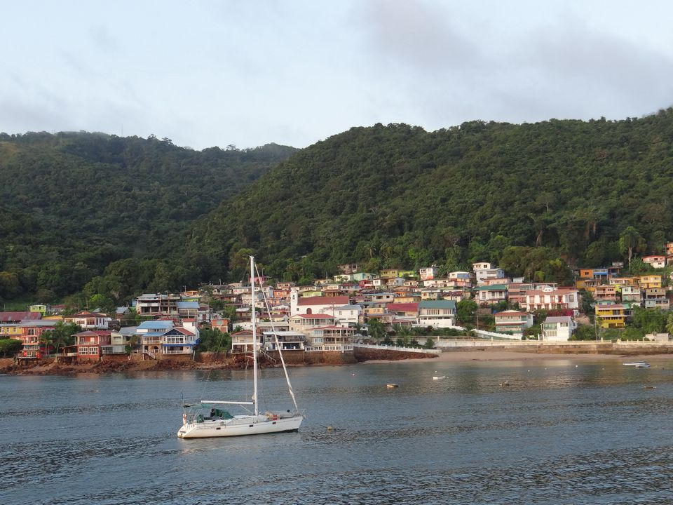 Island of Taboga in the Gult of Panama