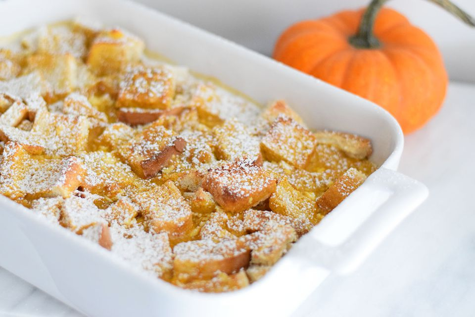 pumpkin cream cheese french toast
