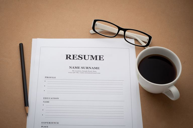 compile your personal and employment information. Resume Example. Resume CV Cover Letter