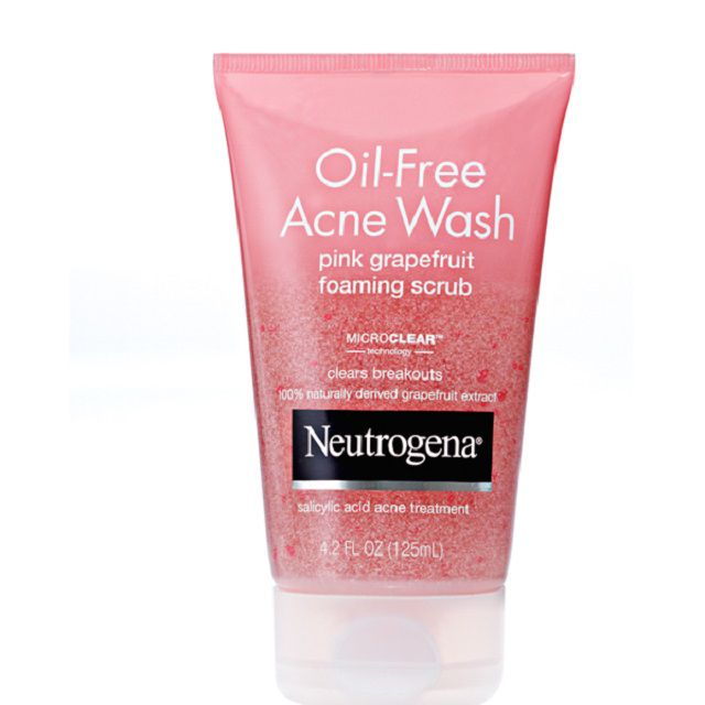 Review: Neutrogena Pink Grapefruit Scrub for Acne-Prone Skin