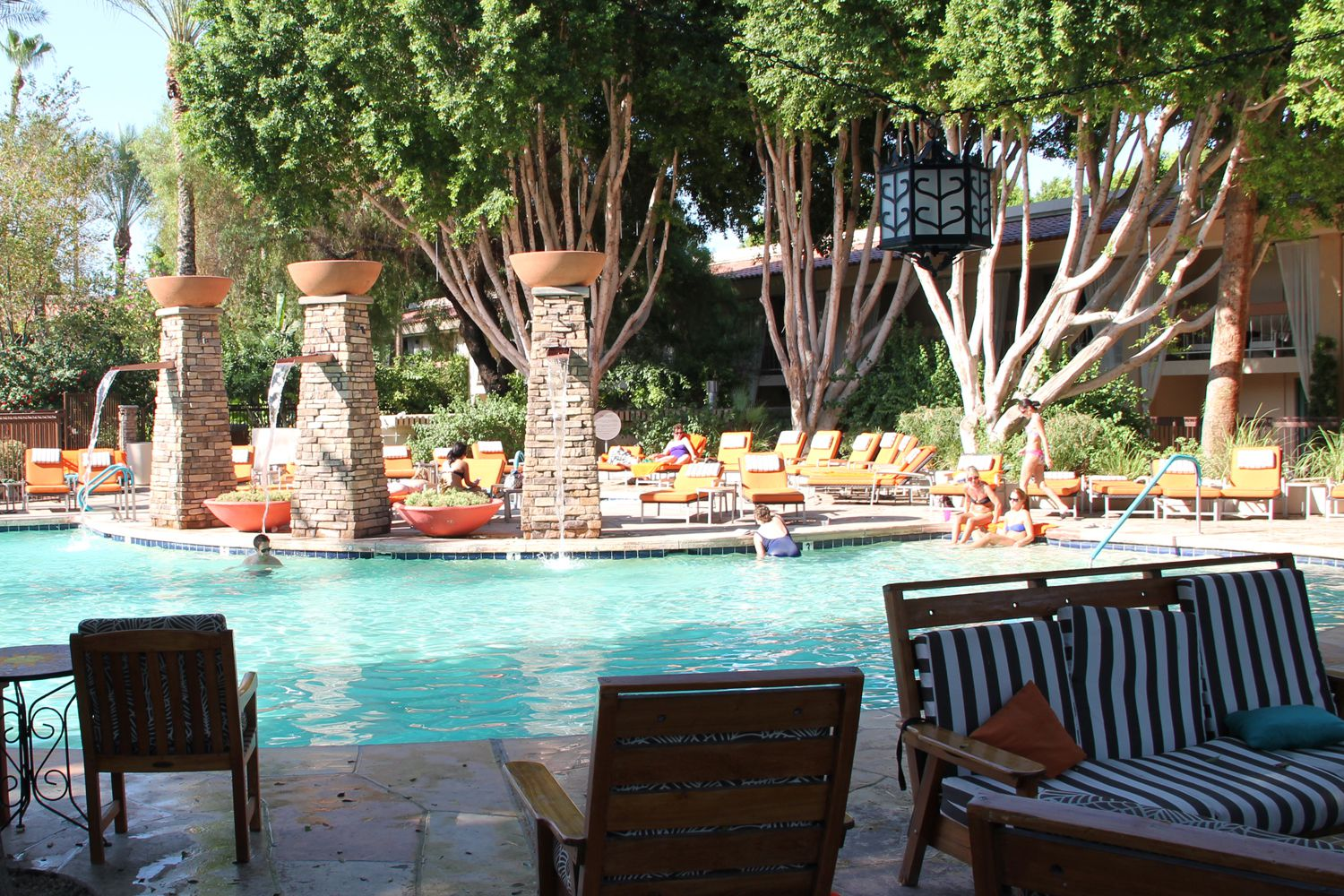 scottsdale and phoenix resorts with water parks
