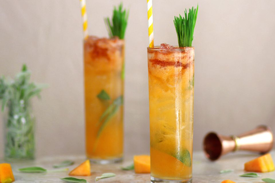 Summer Cantaloupe Cooler