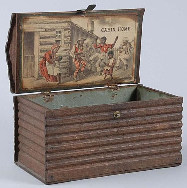 Cabin Home Cigar Box 1880s