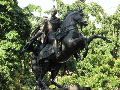 Plaza Bolivar and Statue of Simon Bolivar