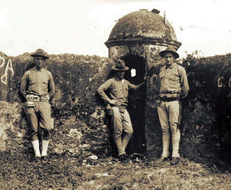 Marines in Santo Domingo, 1916