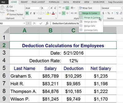 2012 Schedule D Tax Worksheet Excel Active Cellactive Sheet Definition And Use In Excel Day And Night Worksheets with Space Worksheets Ks1 Word Heres How To Merge Cells In Excel And Google Spreadsheets Blank Checks Worksheet Pdf
