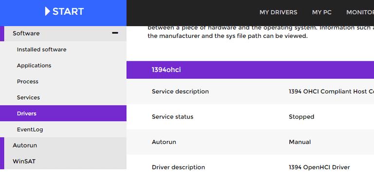 Screenshot of DriversCloud.com