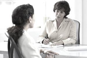 Businesswomen having meeting in office
