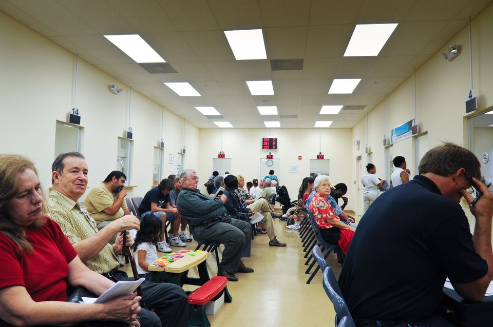DMV queue