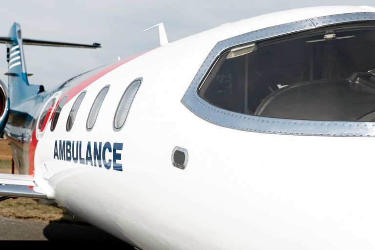 fixed wing air ambulance