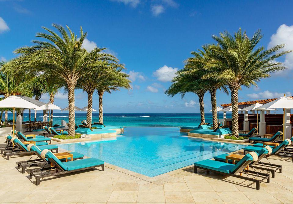 infinity pool beach house. zemi beach house infinity pool w